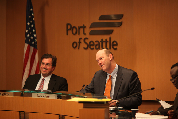 Tom Albro, President Seattle Port Commission